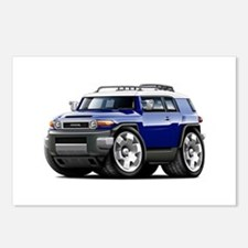 FJ Cruiser Dark Blue Car Postcards (Package of 8)