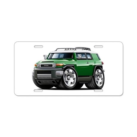 FJ Cruiser Green Car Aluminum License Plate