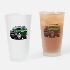 FJ Cruiser Green Car Drinking Glass