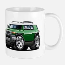 FJ Cruiser Green Car Mug
