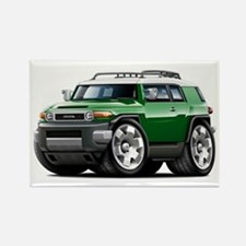 FJ Cruiser Green Car Rectangle Magnet