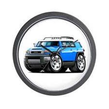 FJ Cruiser Blue Car Wall Clock