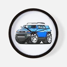 FJ Cruiser Blue Car Wall Clock