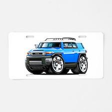 FJ Cruiser Blue Car Aluminum License Plate