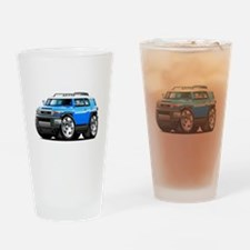 FJ Cruiser Blue Car Drinking Glass