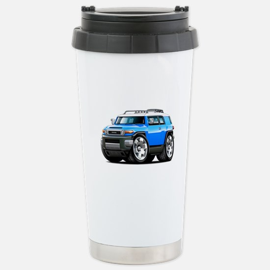 FJ Cruiser Blue Car Stainless Steel Travel Mug