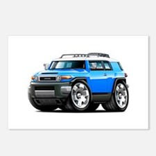 FJ Cruiser Blue Car Postcards (Package of 8)