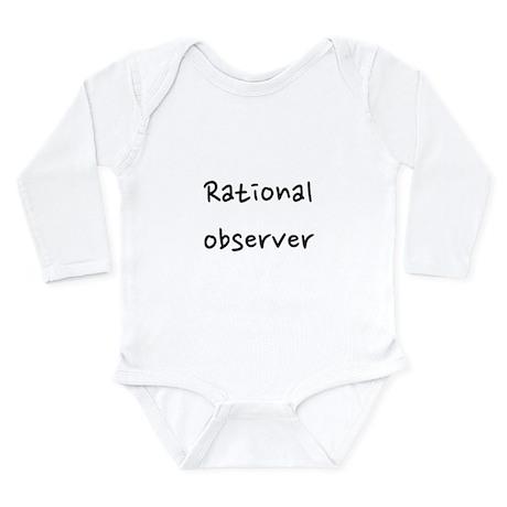 Rational observer Long Sleeve Infant Bodysuit