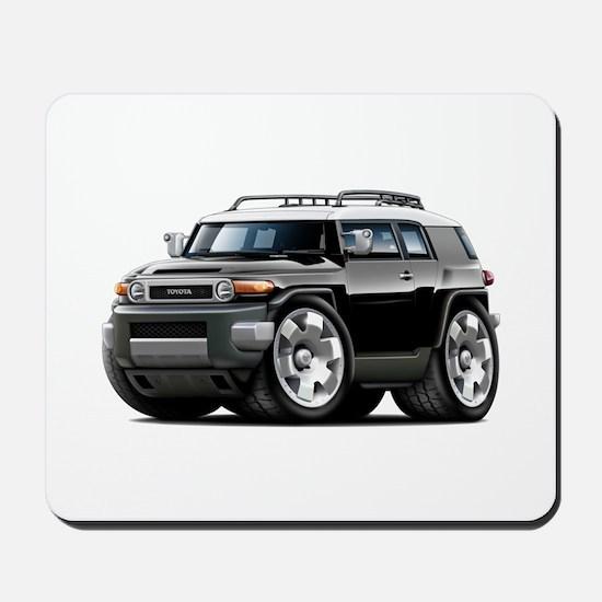 FJ Cruiser Black Car Mousepad