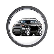 FJ Cruiser Black Car Wall Clock
