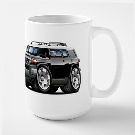 FJ Cruiser Black Car Large Mug