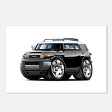FJ Cruiser Black Car Postcards (Package of 8)