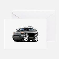 FJ Cruiser Black Car Greeting Card
