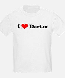 I Love Darian Kids T-Shirt