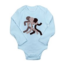 iRun Long Sleeve Infant Bodysuit