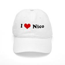 I Love Nico Baseball Cap