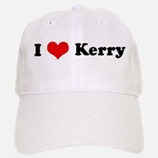 I Love Kerry Baseball Baseball Cap