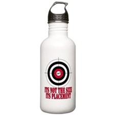 Target Practice Funny Sports Water Bottle