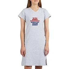 2nd Amendment Gun Women's Nightshirt