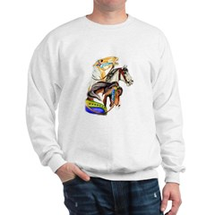 Carousel Horses Sweatshirt