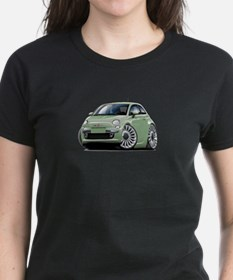 Fiat 500 Lt. Green Car Tee