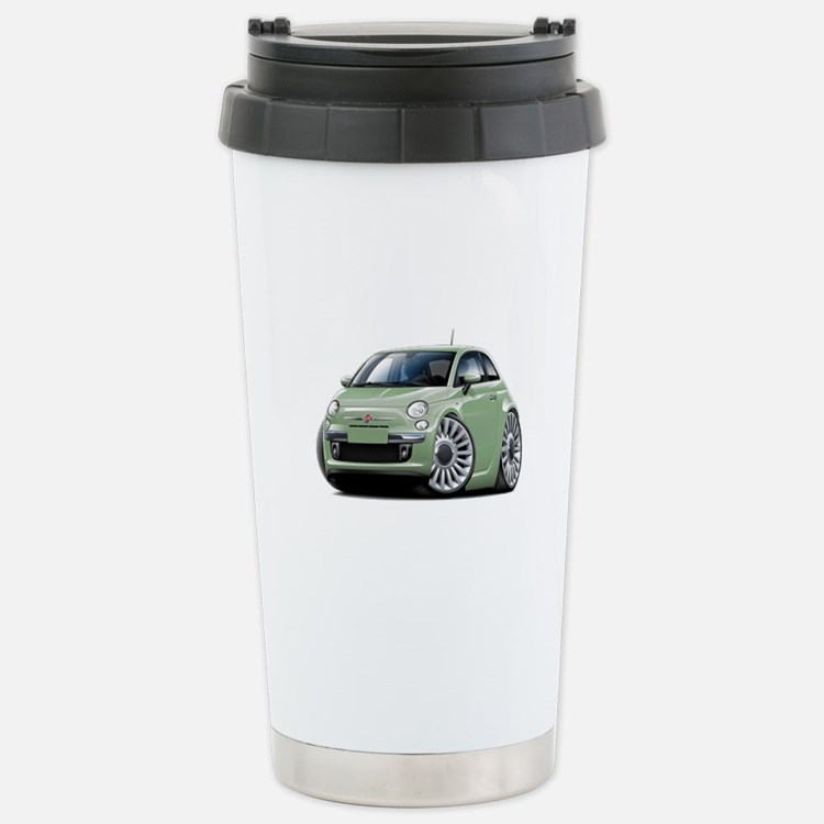 fiat 500 coffee mugs fiat 500 travel mugs cafepress. Black Bedroom Furniture Sets. Home Design Ideas