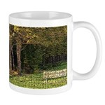 Bench In Forest Mug
