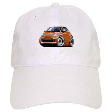 Fiat 500 Copper Car Cap