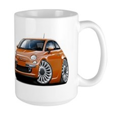 Fiat 500 Copper Car Mug