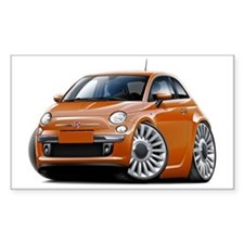 Fiat 500 Copper Car Decal