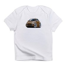 Fiat 500 Brown Car Infant T-Shirt