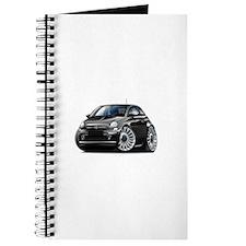 Fiat 500 Black Car Journal