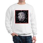 Winter or Christmas Poodle De Sweatshirt
