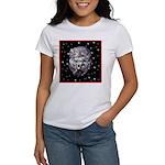 Winter or Christmas Poodle De Women's T-Shirt