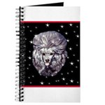 Winter or Christmas Poodle De Journal