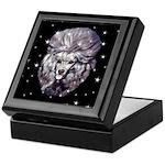 Winter or Christmas Poodle De Keepsake Box