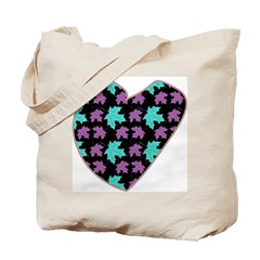 Bright Heart Tote Bag