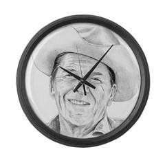 Reagan Large Wall Clock