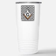 Mosaic Pavement Stainless Steel Travel Mug
