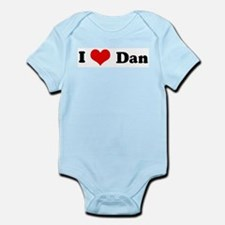 I Love Dan Infant Creeper