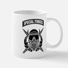 Combat Diver Supervisor w Tab B-W Mug