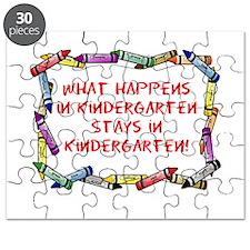 Kindergarten Crayon's Puzzle
