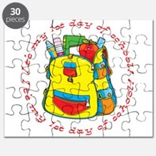 First 1st Day of School Puzzle
