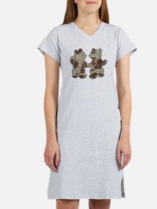 Kid Bears Desert Camo Women's Nightshirt