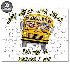 Hi Ho School Bus Puzzle