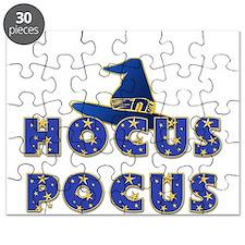 Hocus Pocus Witches Hat Blue Puzzle