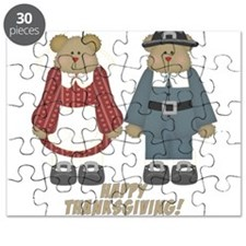 Thanksgiving Teddy Bears Puzzle