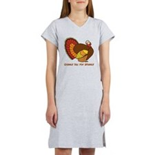 Thanksgiving Gobble Women's Nightshirt
