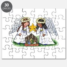 Christmas Angel Nativity Puzzle