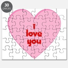 I Love You Valentine Puzzle